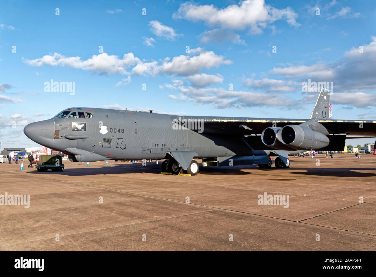 United States Air Force B-52H Stratofortress, 60-0048/LA,of the 2nd BW/20th BS, Barksdale Air Force Base, Louisiana Stock Photo