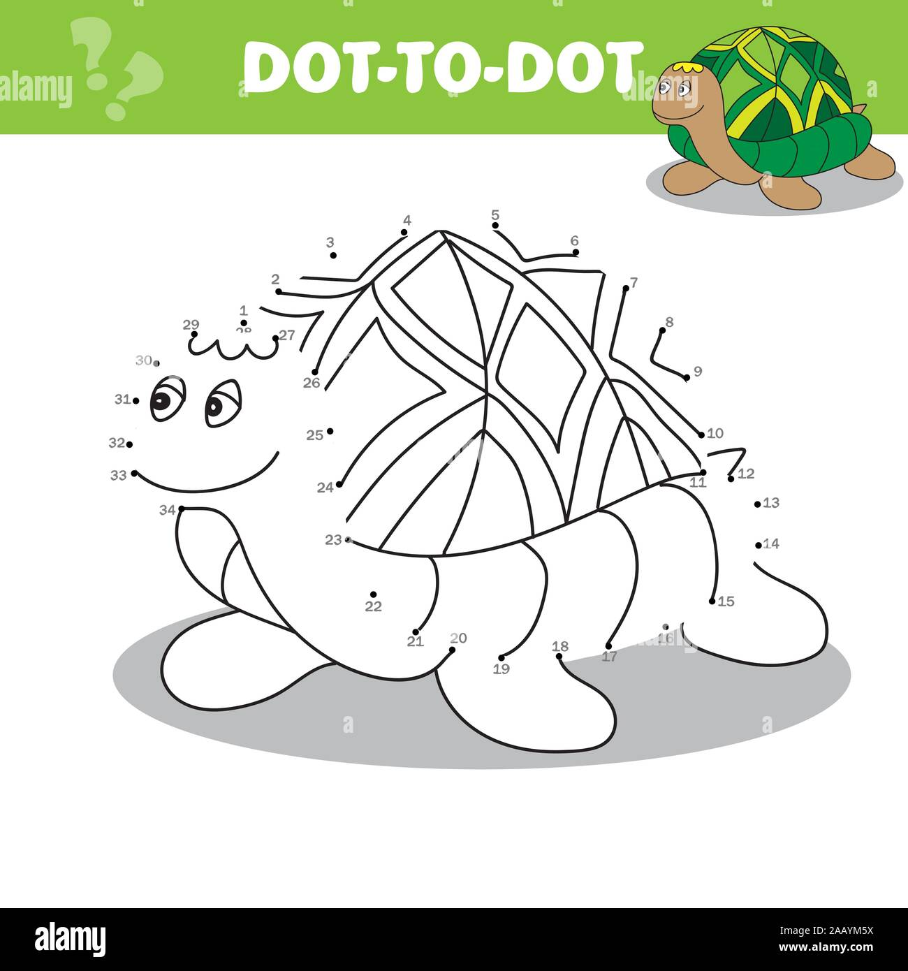 Connect the dots to draw the animal educational game for children ...