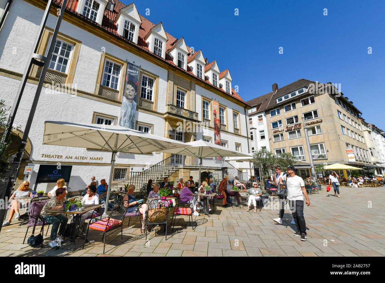 Theater am Alten Markt, Alter Markt, Bielefeld, Nordrhein-Westfalen, Deutschland Stock Photo