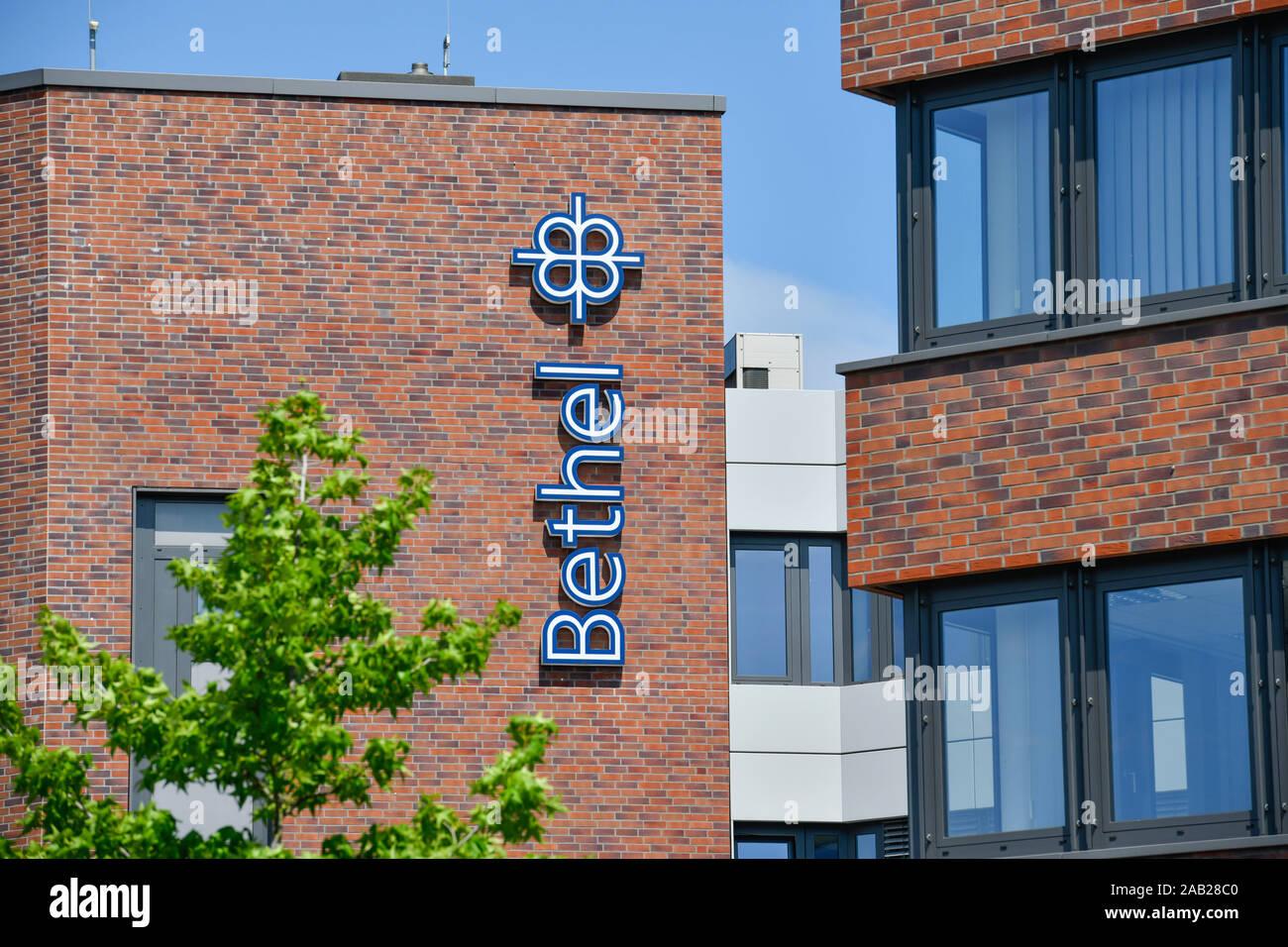 Hauptverwaltung, Von Bodelschwinghsche Stiftungen Bethel, Königsweg, Bielefeld, Nordrhein-Westfalen, Deutschland Stock Photo