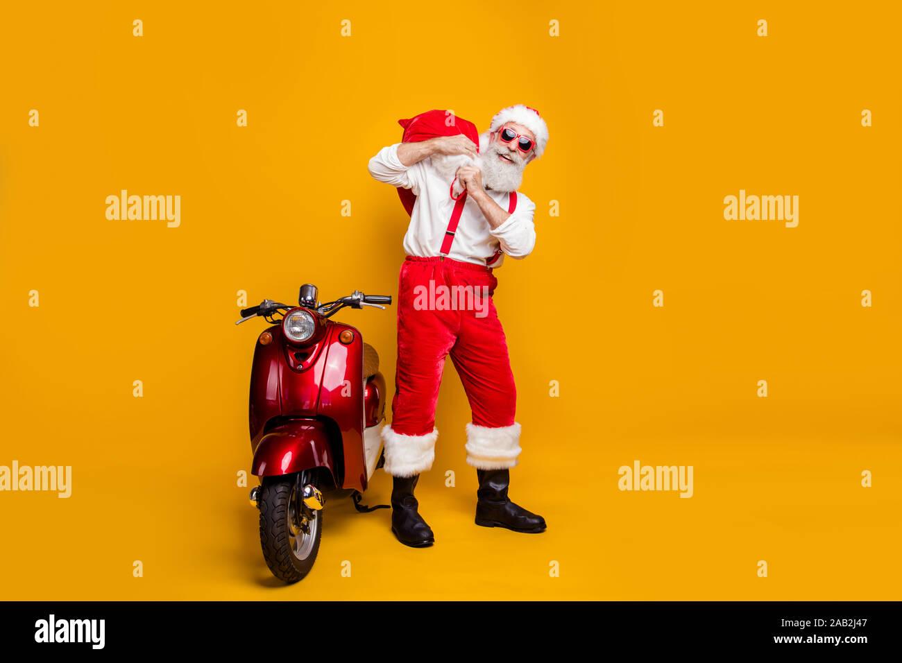 """VINTAGE HARLEY DAVIDSON MOTORCYCLES 2/"""" ORANGE BLACK SUSPENDERS"""