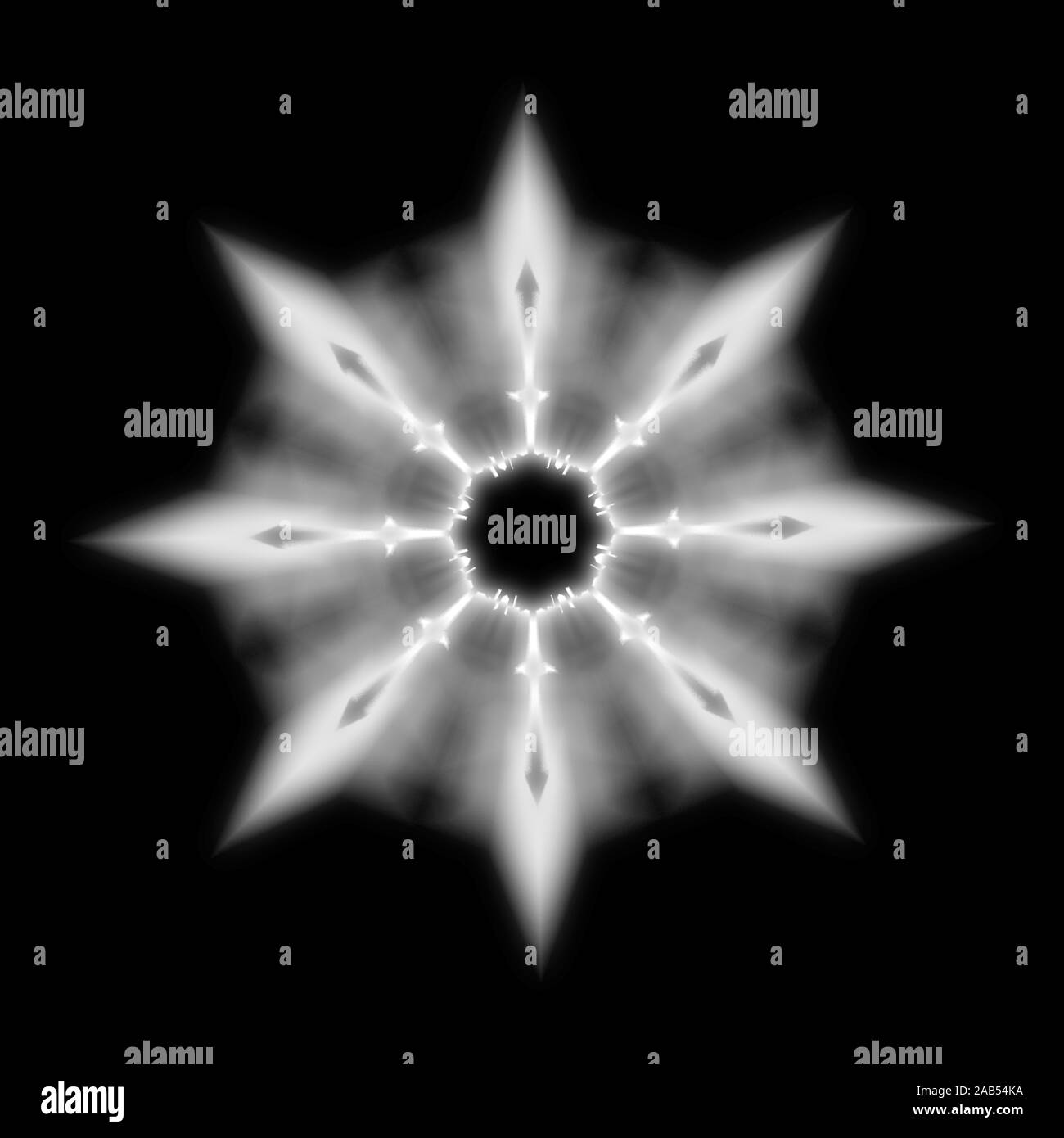 Psychedelic Black And White Stock Photos Images Alamy