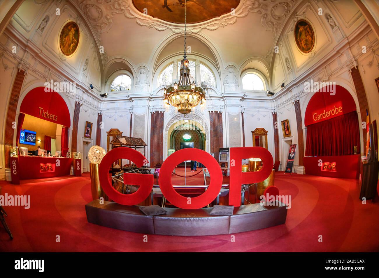 GOP Theater, Kaiserpalais, Kurpark, Bad Oeynhausen, Nordrhein-Westfalen, Deutschland Stock Photo