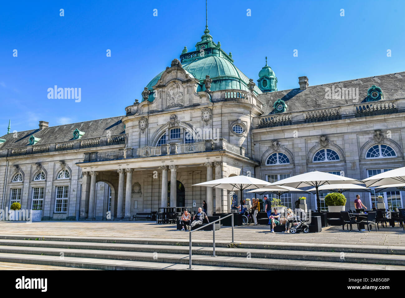 Kaiserpalais, Kurpark, Bad Oeynhausen, Nordrhein-Westfalen, Deutschland Stock Photo