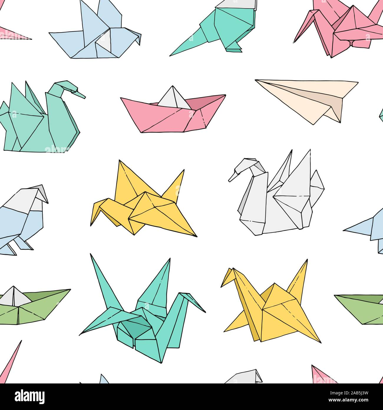 Origami and Geometry Lesson Plan for Grade 2 | 1390x1300