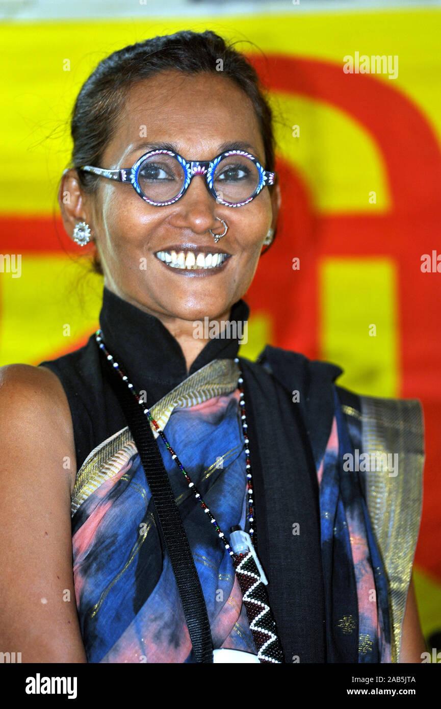 Portrait Of Bibi Russell Fashion Designer And Former International Model Of Bangladesh March 13 2010 Stock Photo Alamy