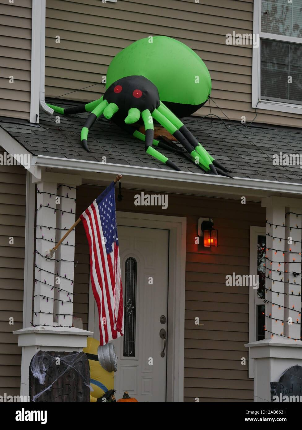 Large Spider Decoration For House  from c8.alamy.com