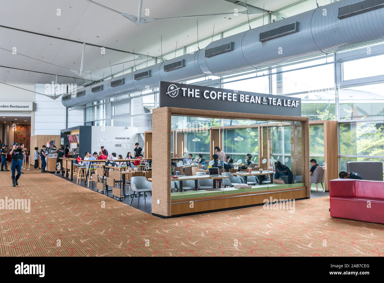 Asia Singapore Nov 23 2019 The Coffee Bean Tea Leaf Cbtl Franchise Cafe Store In Singapore Expo Cbtl Is An American Coffee Chain Founded In Stock Photo Alamy