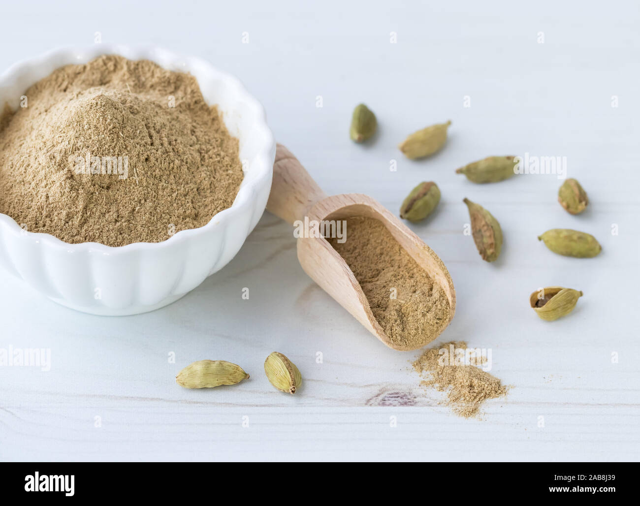 Ground Cardamom High Resolution Stock Photography And Images Alamy