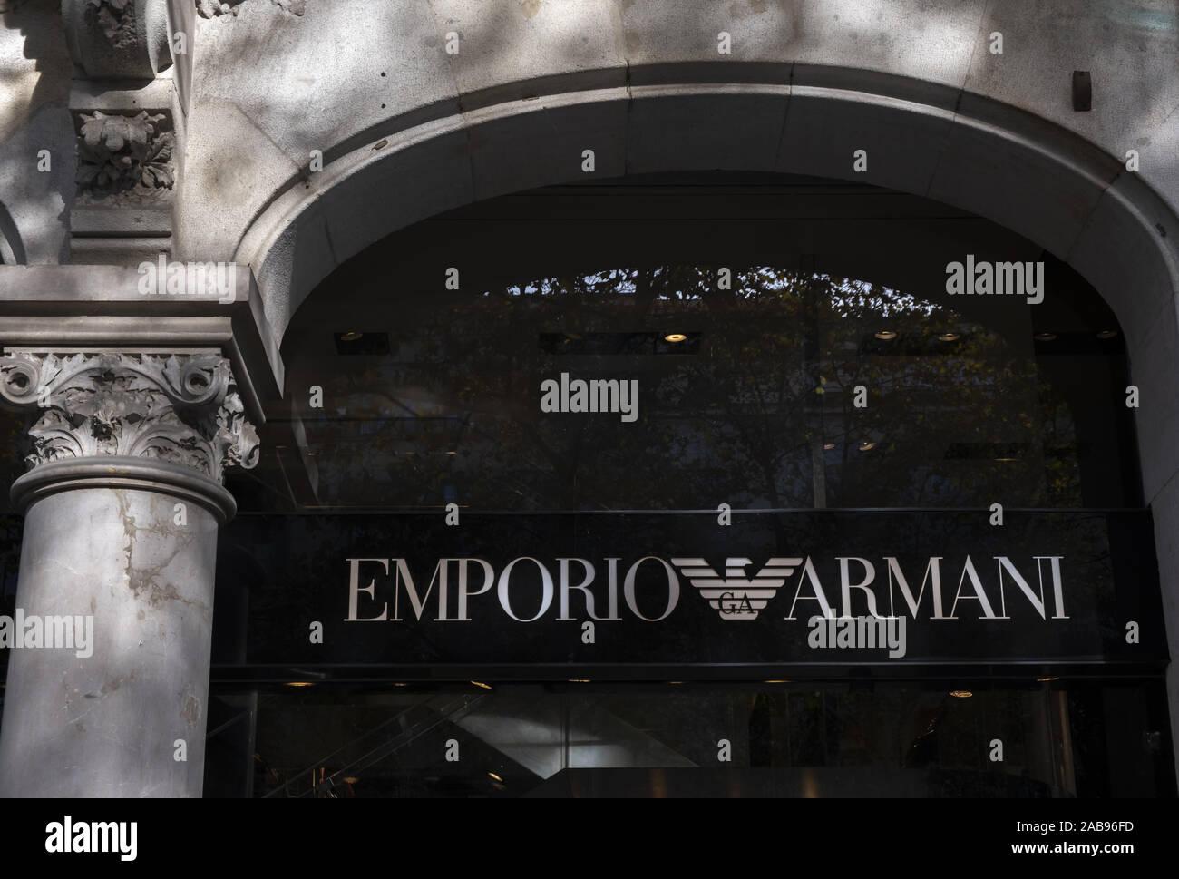 emporio armani black friday