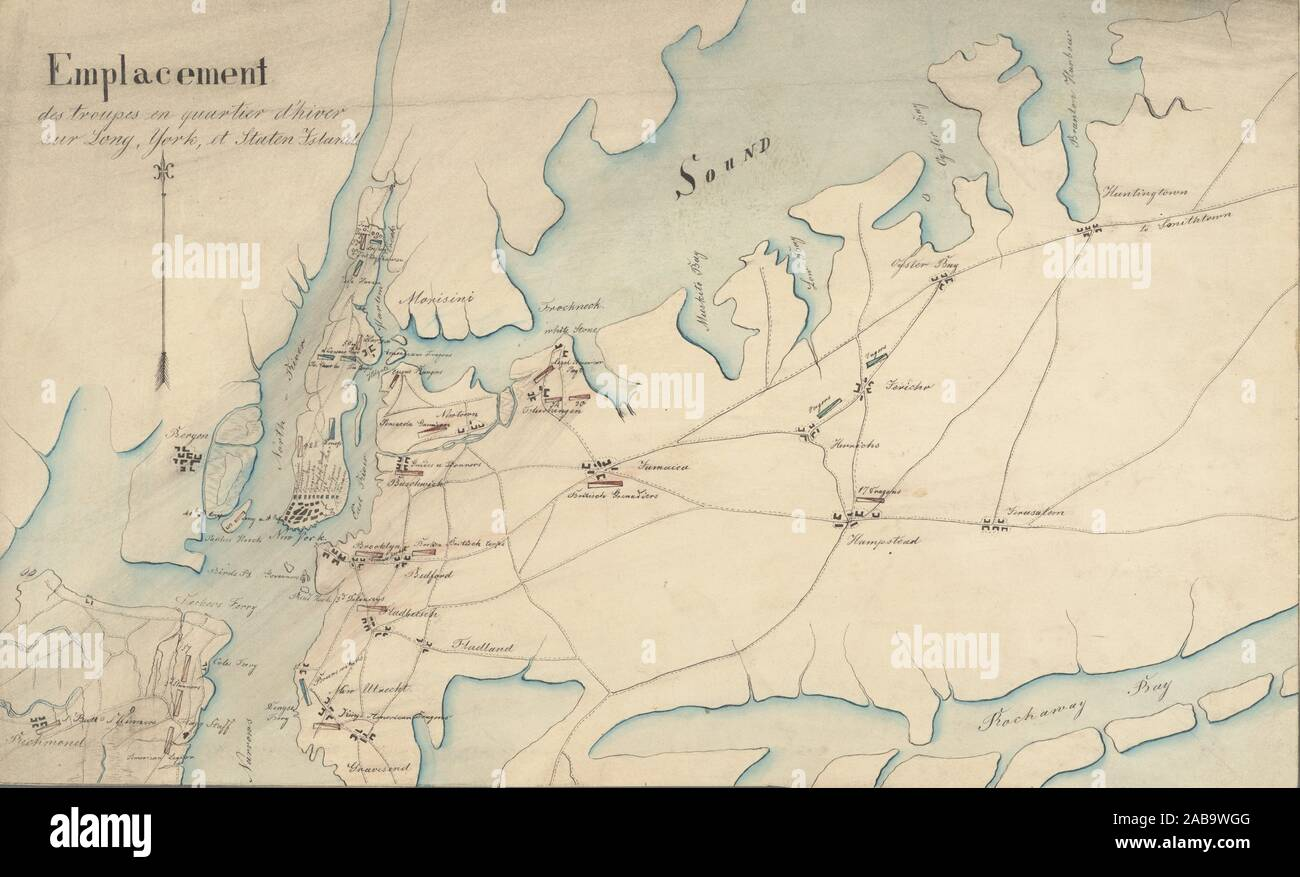 5 Sizes Revolutionary War Detailed Map of Boston w// Military Camps 1776 Poster