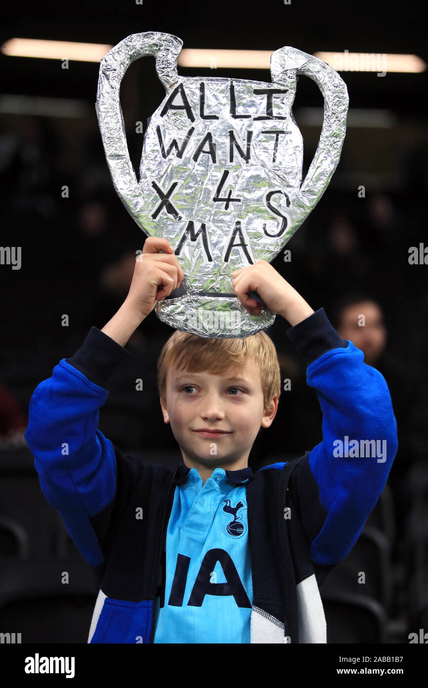 replica uefa champions league trophy high resolution stock photography and images alamy https www alamy com a young tottenham hotspur fan with a replica champions league trophy before the uefa champions league group b match at tottenham hotspur stadium london image334000779 html