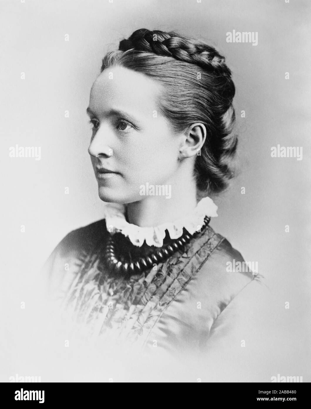 MILLICENT FAWCETT (1847-1929) English suffrage activist Stock Photo