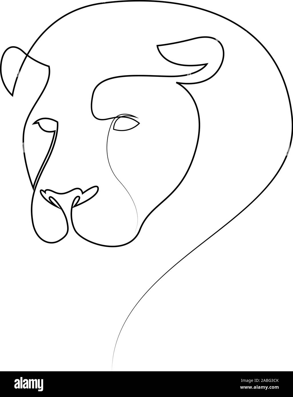 One Line Design Silhouette Of Lion Hand Drawn Minimalism Style Abstract Lion Vector Illustration Stock Vector Image Art Alamy Polish your personal project or design with these lion cub transparent png images, make it even more personalized and more attractive. https www alamy com one line design silhouette of lion hand drawn minimalism style abstract lion vector illustration image334112147 html
