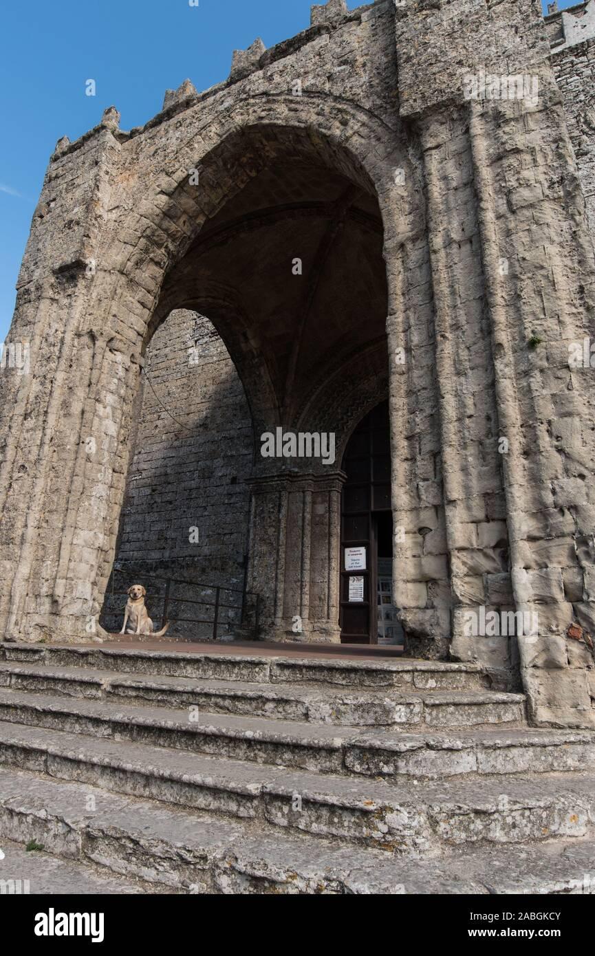 Duomo di Erice Stock Photo