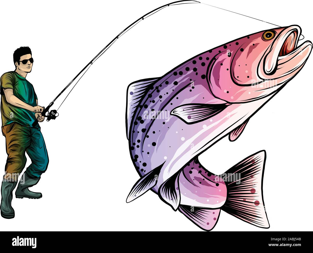 29+ Fisherman Vector