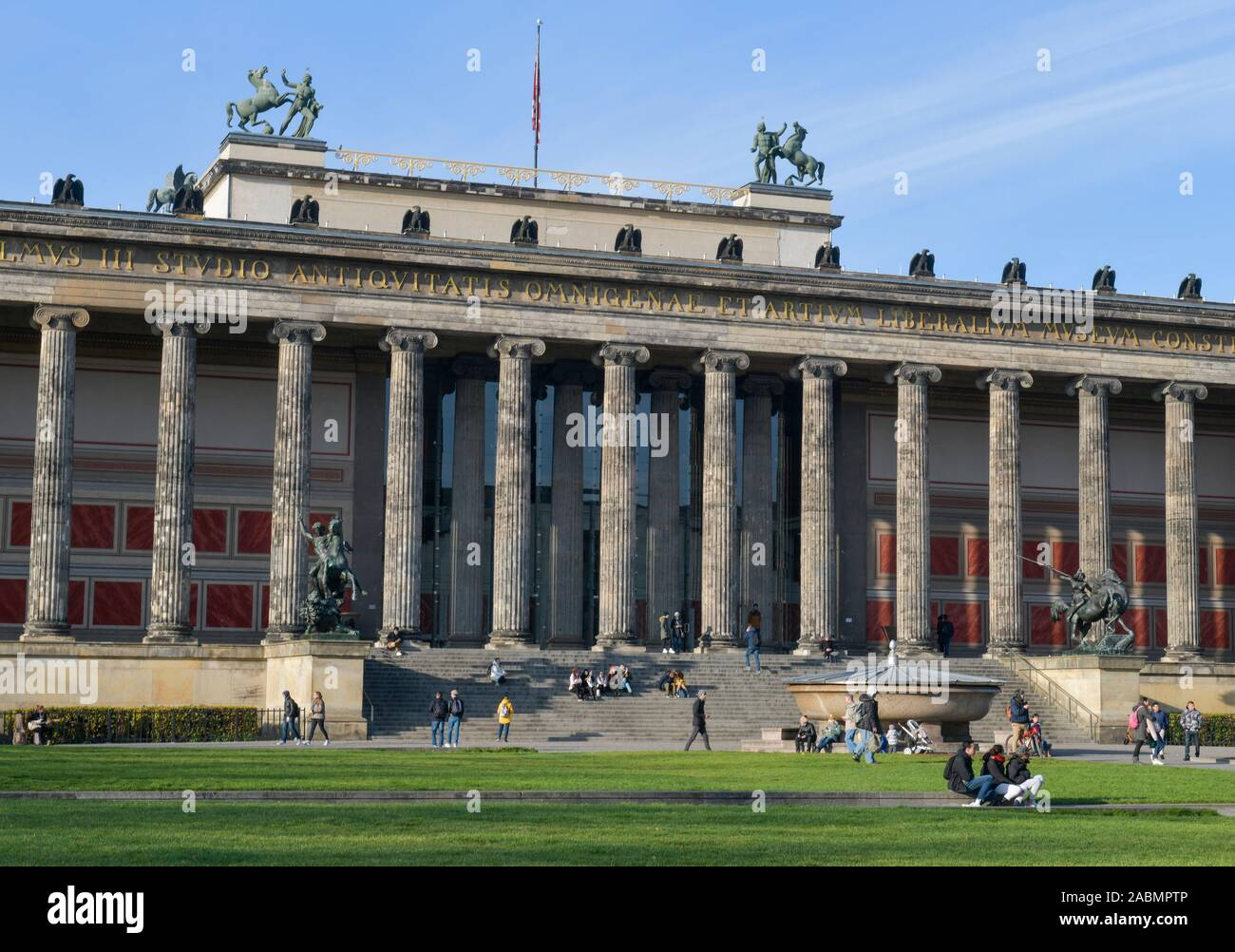 Altes Museum, Lustgarten, Museumsinsel, Mitte, Berlin, Deutschland Stock Photo