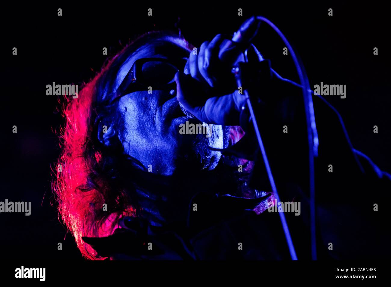 Mark Lanegan Performs Live At Fabrique On November 27 2019 In Milano Italy Mark Lanegan Is An American Alternative Rock Musician And Singer Songwriter Member Of The Psychedelic Grunge Band Screaming Trees During