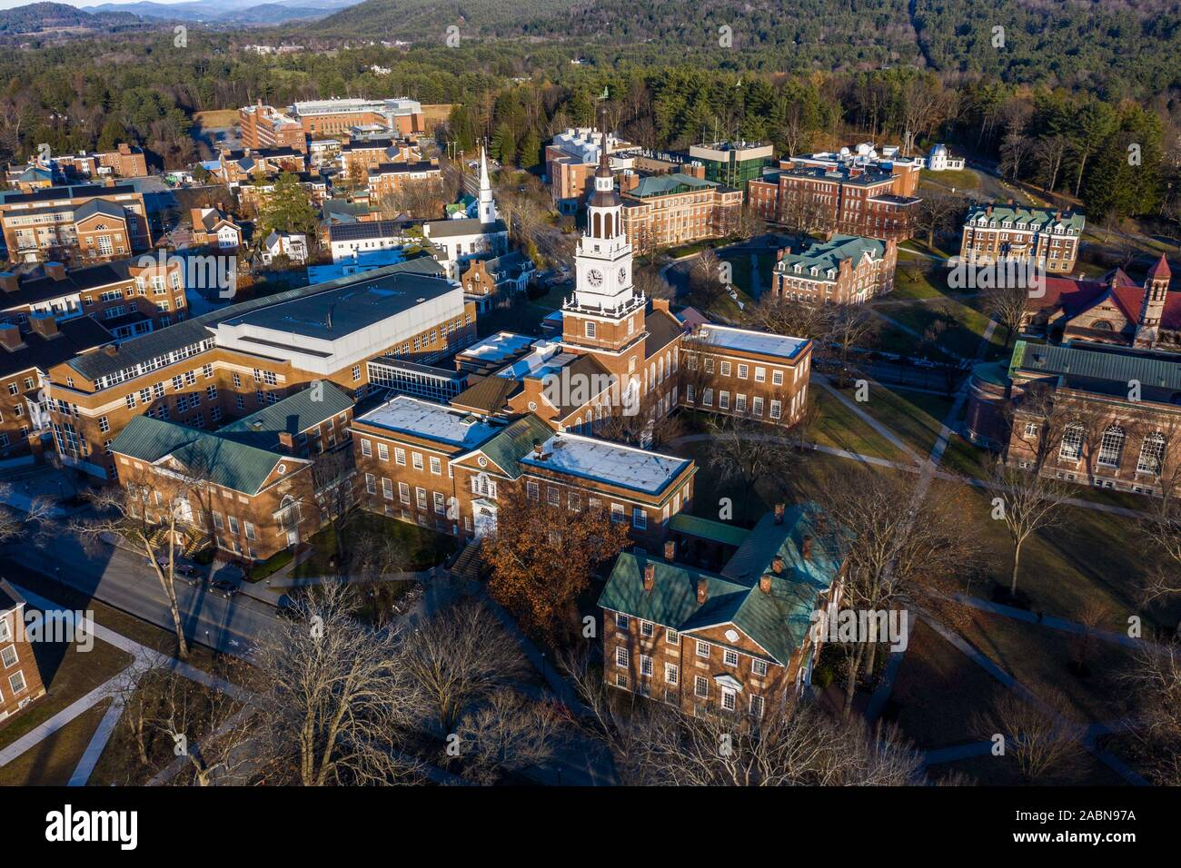 Baker-Berry Library, Dartmouth College, Hanover, NH Stock Photo
