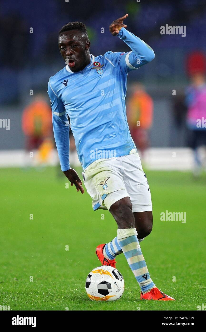 Bobby Adekanye of Lazio in action during the UEFA Europa League, Group E football match between SS Lazio and CFR Cluj on November 28, 2019 at Stadio Olimpico in Rome, Italy - Photo Federico Proietti/ESPA-Images Stock Photo