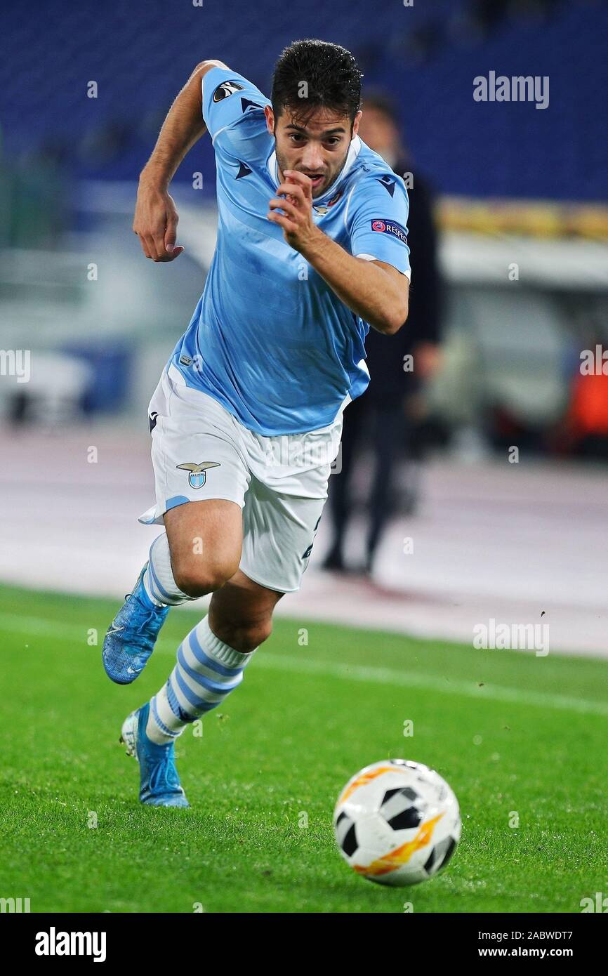 Jony of Lazio in action during the UEFA Europa League, Group E football match between SS Lazio and CFR Cluj on November 28, 2019 at Stadio Olimpico in Rome, Italy - Photo Federico Proietti/ESPA-Images Stock Photo