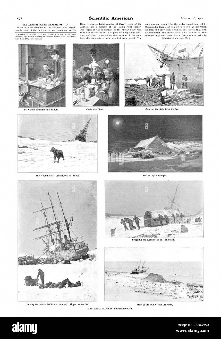 Cc, scientific american, 1904-03-26 Stock Photo