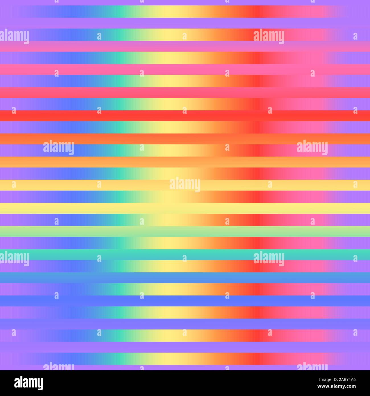 Bright gradient striped seamless pattern. Vector stock repeating background. Bright colors of the rainbow. Modern surface design Stock Vector