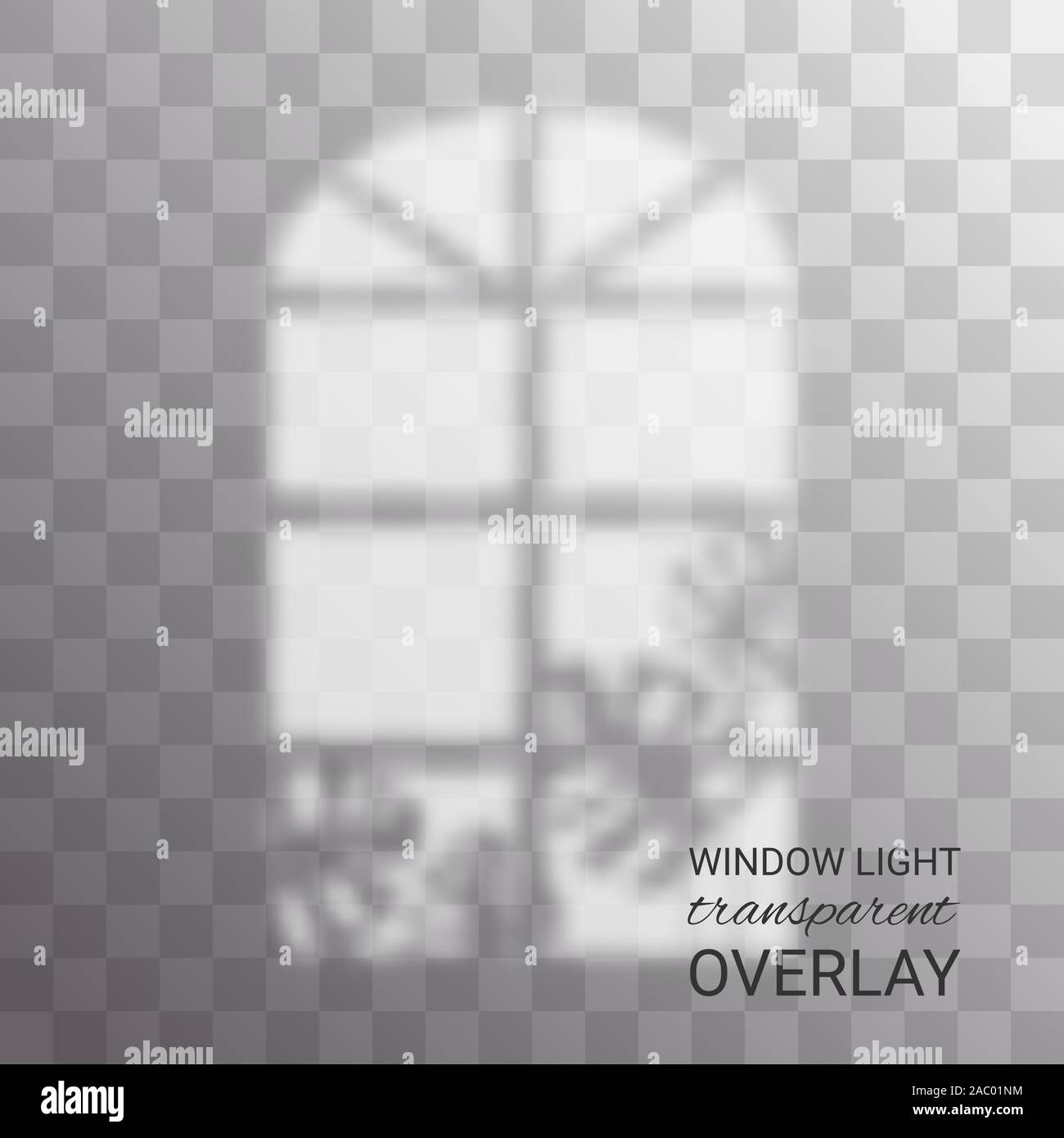 Realistic Shadow Overlay Window Light With Shadow Texture Of Tropical Plant Leaves On Isolated Background Vector Shade Overlay Abstract Indoor Stock Vector Image Art Alamy