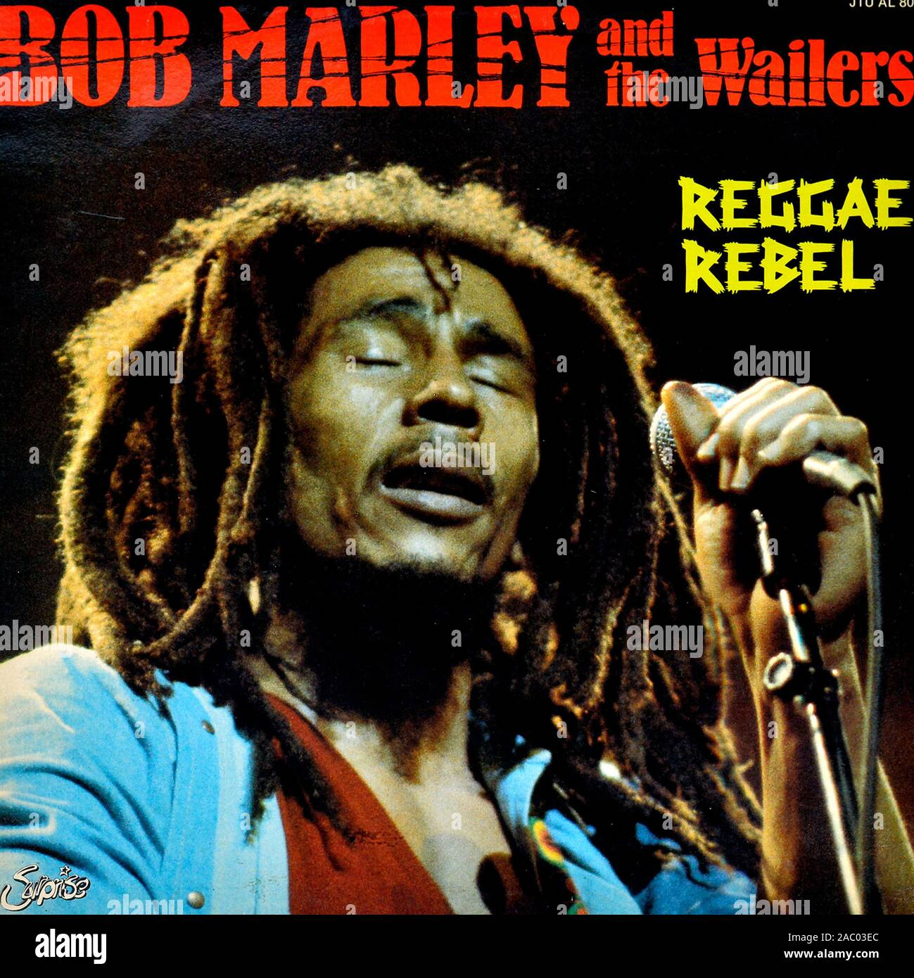 BOB MARLEY and the Wailers Reggae Rebel - Vintage vinyl album cover Stock  Photo - Alamy