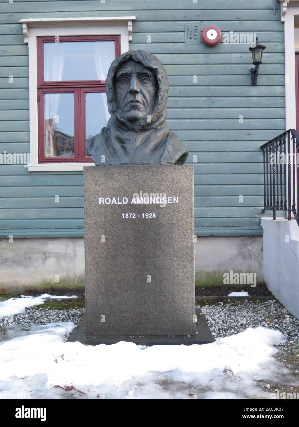 Roald Amundsen, Tromso, Norway Stock Photo