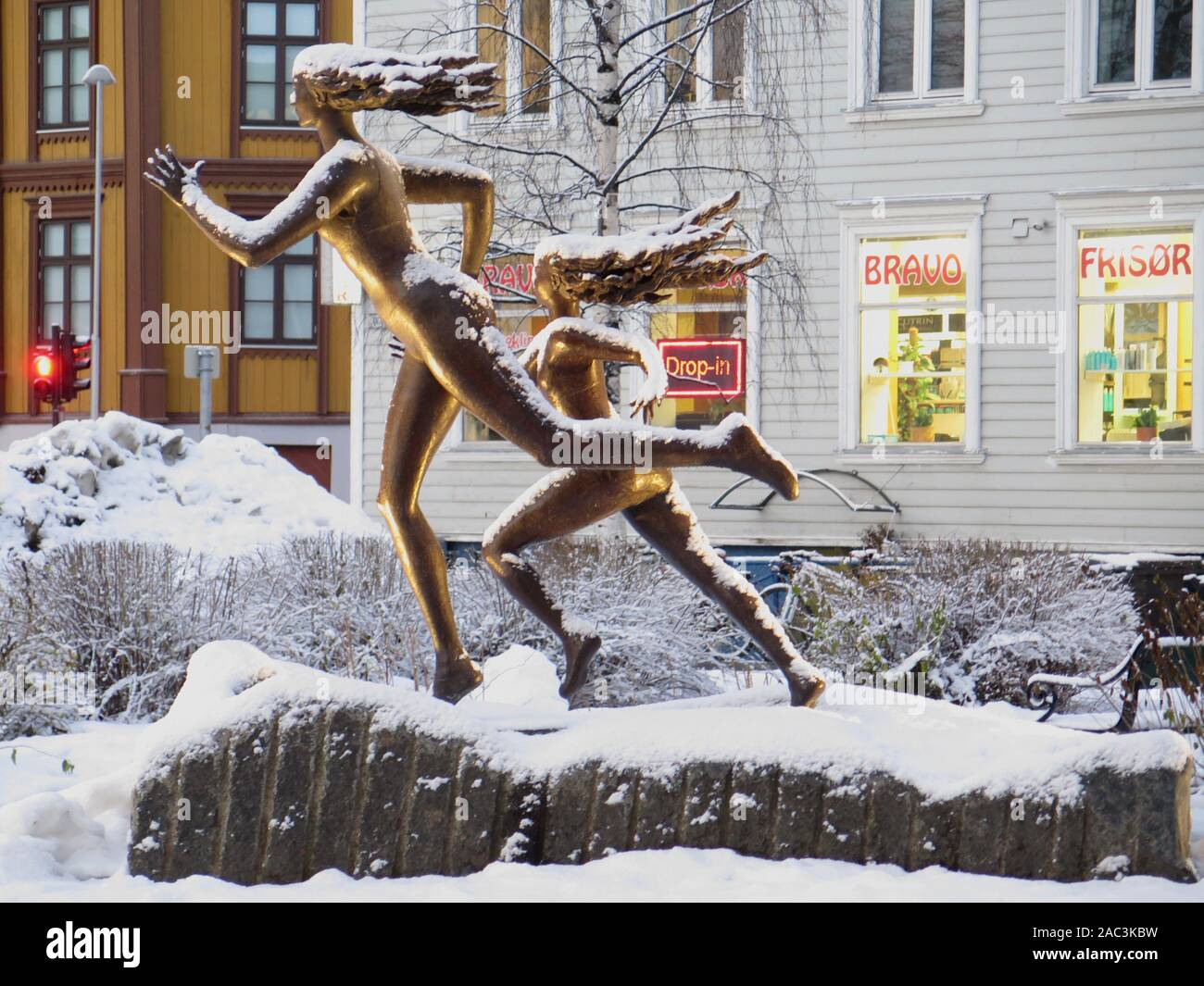 Tromso, street art Stock Photo