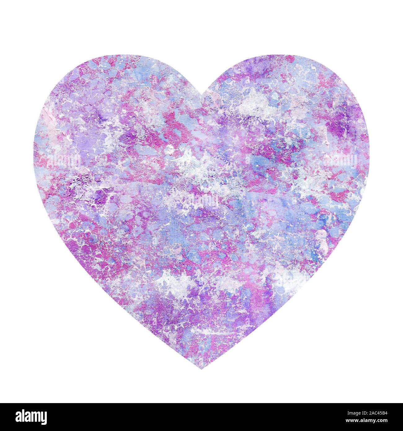 Grunge Abstract Heart Shaped Background Stone And Marble Texture With Scratches Dots And Lines A Multi Colored Pattern With Pink Blue Purple And Stock Photo Alamy
