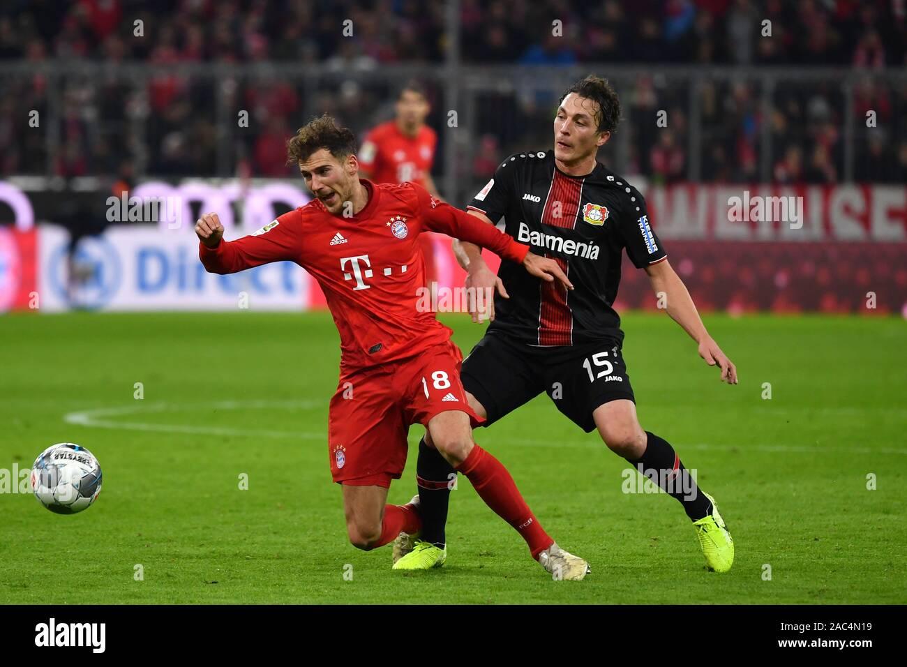 Julian BAUMGARTLINGER (Bayer Leverkusen), action, duels versus ...