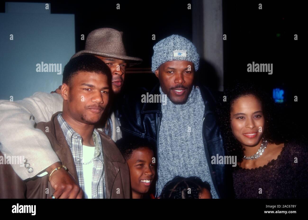 Century City California Usa 22nd March 1995 Actor Damien Dante Wayans Comedian Damon Wayans Son Michael