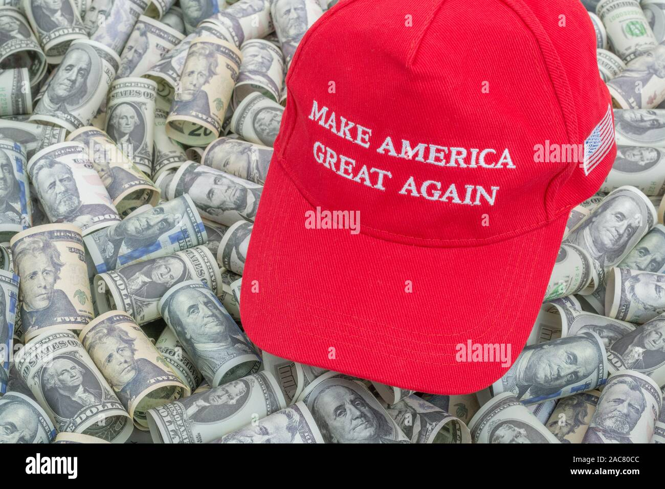 Donald Trump 2020 Keep Make America Great Again Cap Embroidered Hat Red US Ly