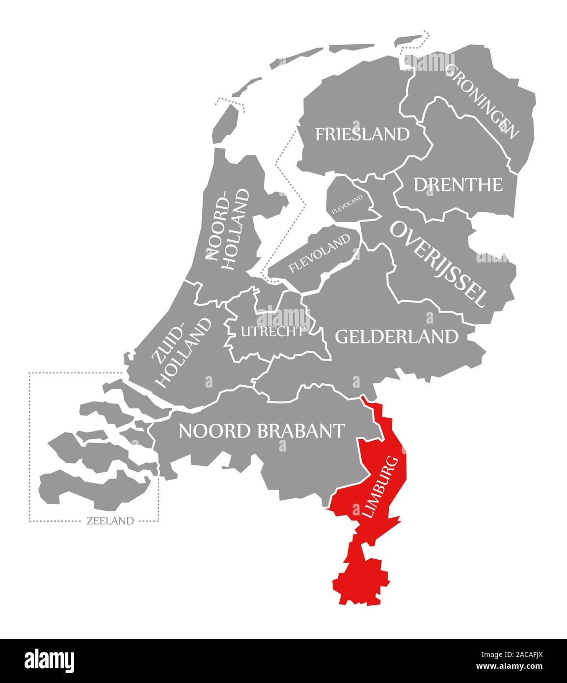 Picture of: Netherlands Map Illustration High Resolution Stock Photography And Images Alamy