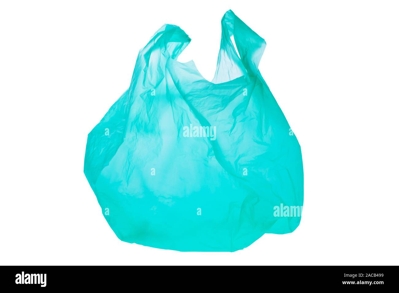 Plastic shopping bag Stock Photo