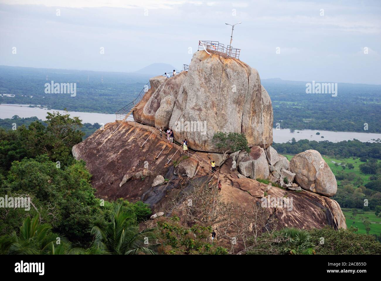 Temple, Sila Rock, Silafelsen, Mihintale, Sri Lanka, Asia Stock Photo