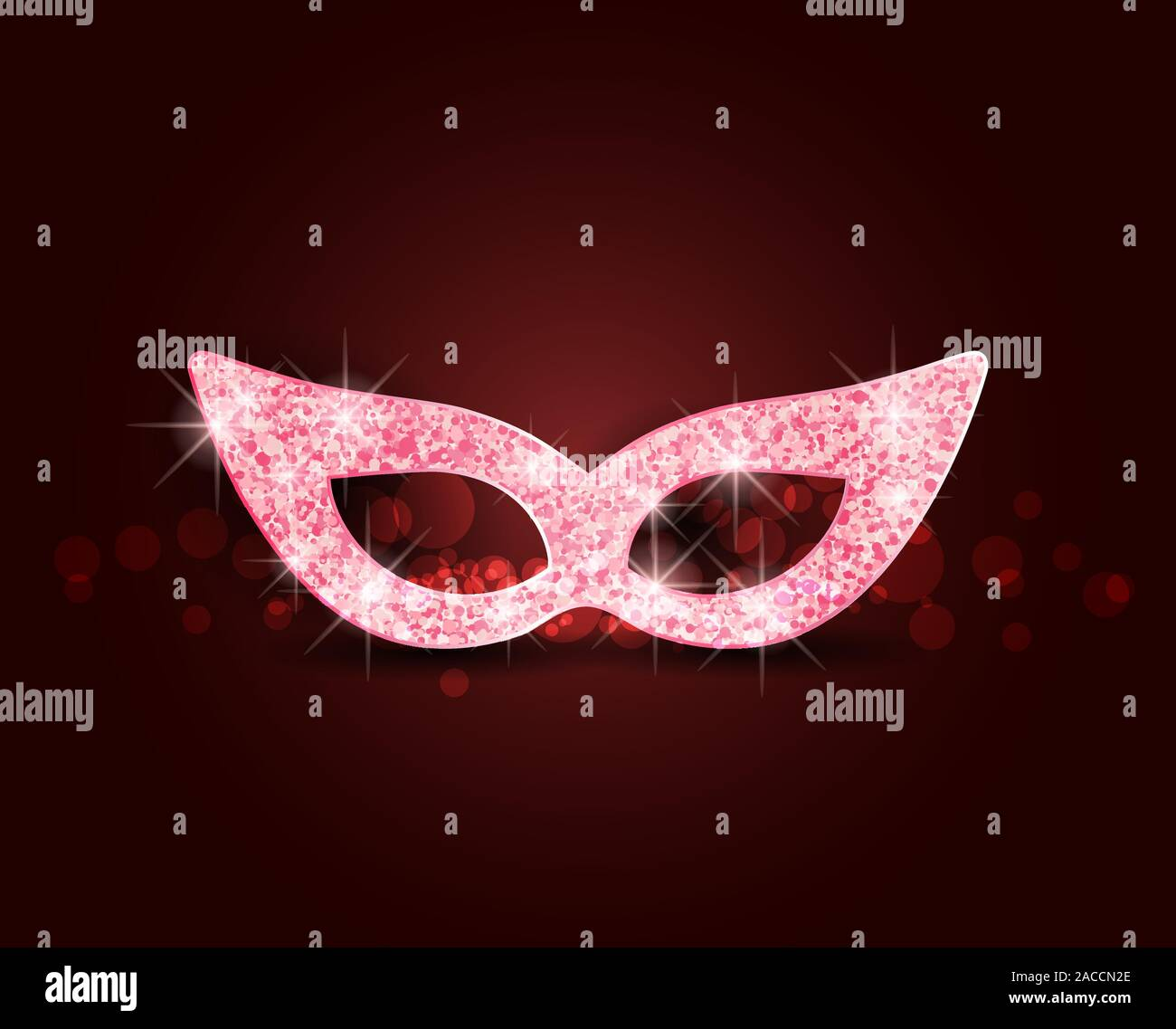Illustration carnival mask Stock Vector