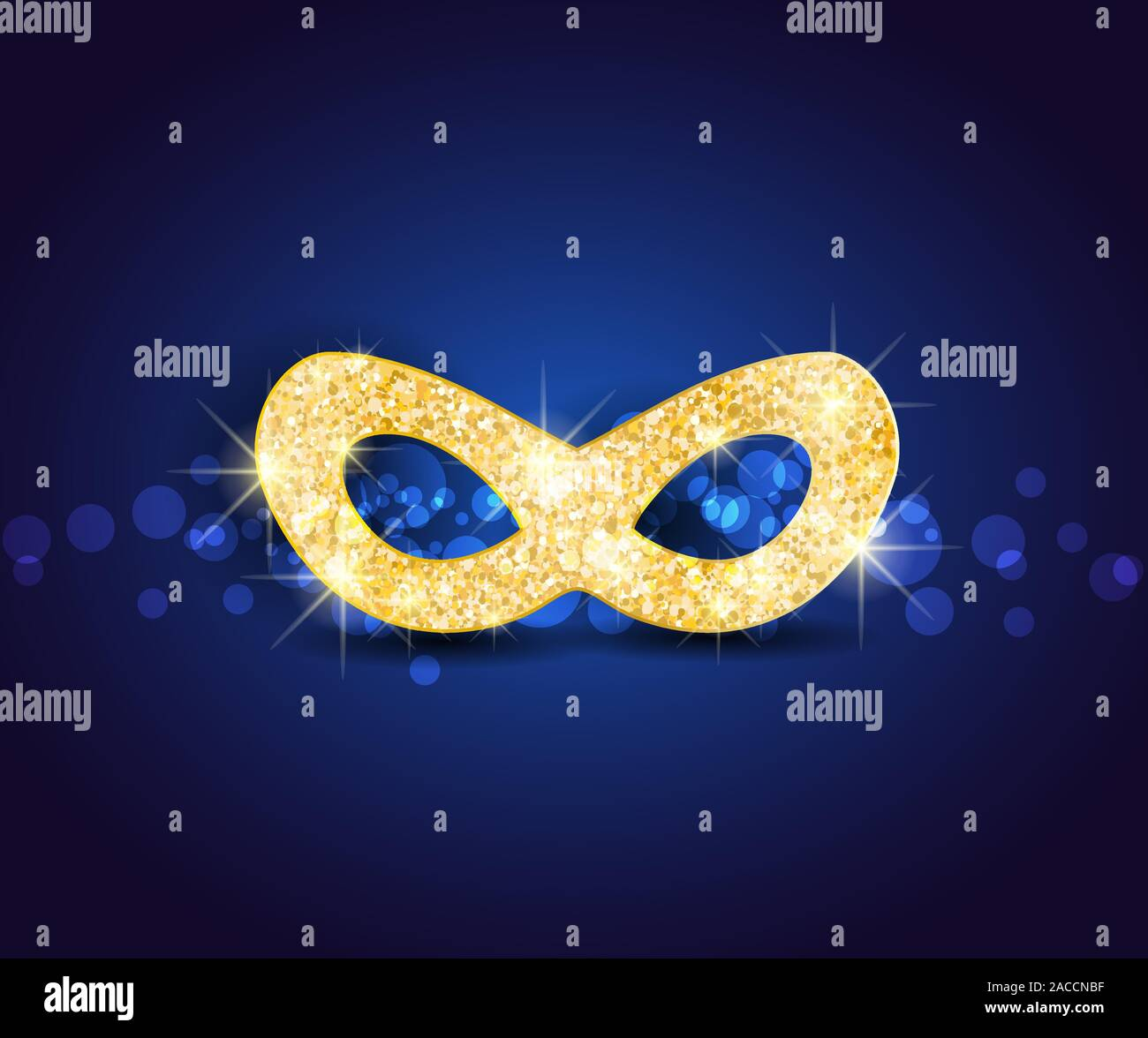 Illustration carnival mask Stock Vector