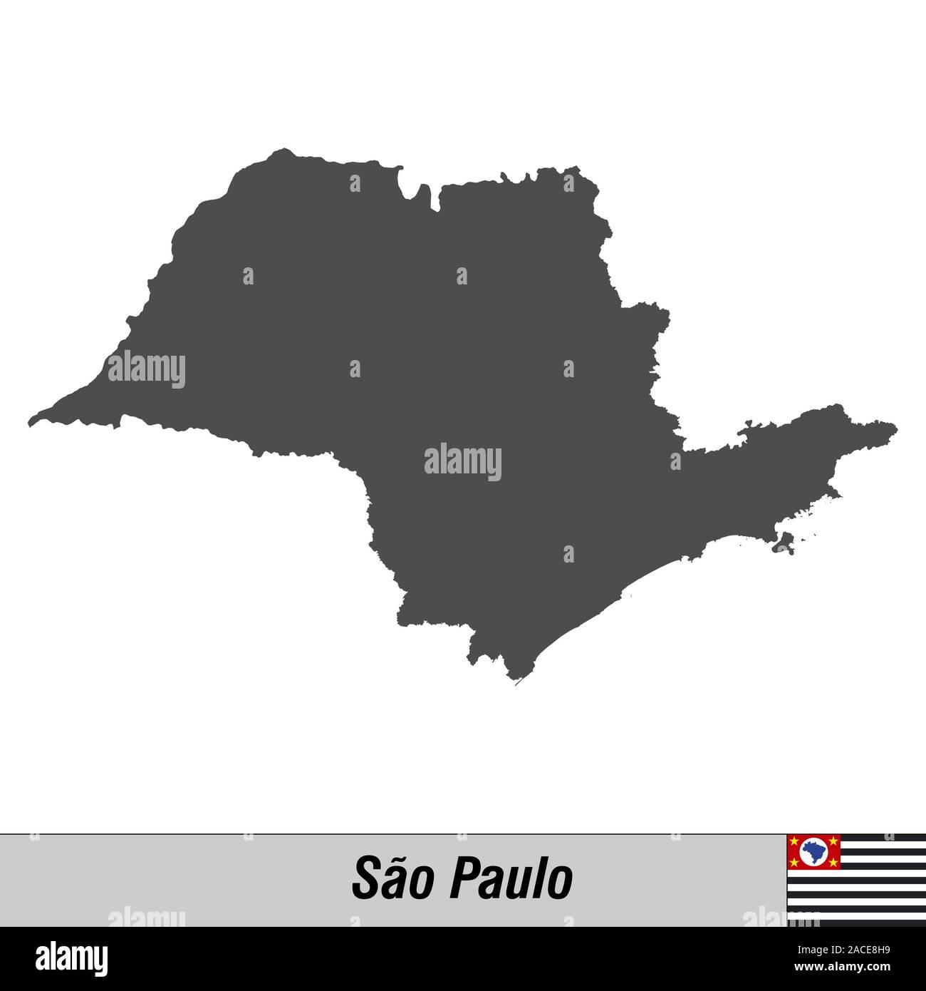 Sao Paulo Outline Stock Photos Sao Paulo Outline Stock Images