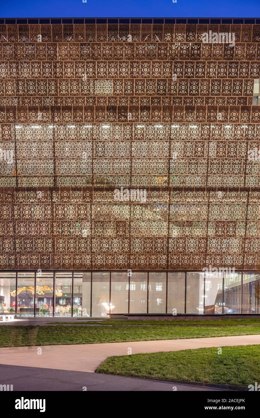 National Museum of African American History and Culture designed by David Adjaye Stock Photo