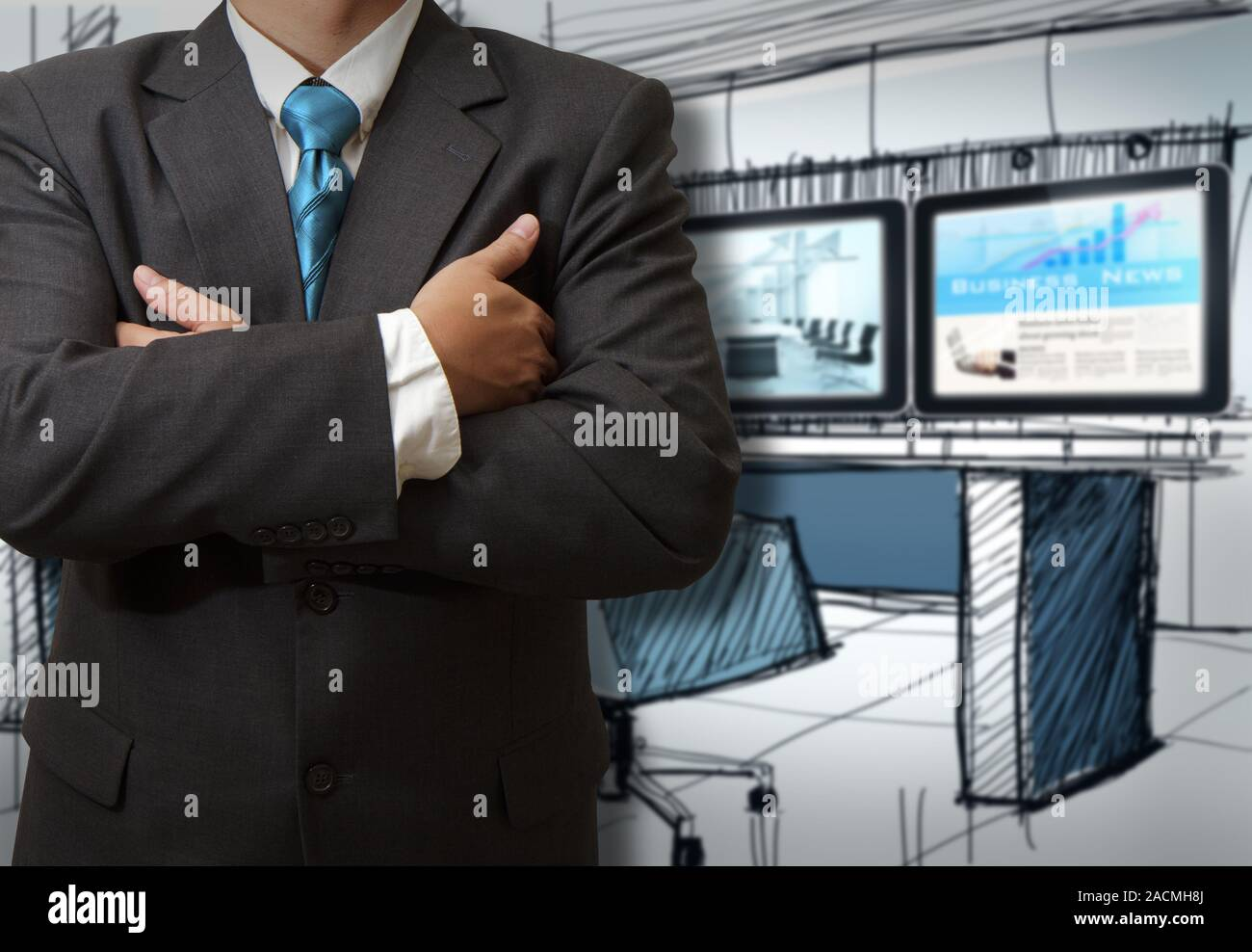 Business man success Stock Photo