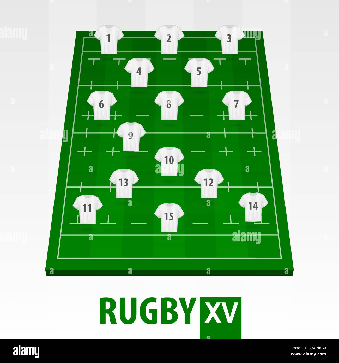 Formation Of Rugby League High Resolution Stock Photography And Images Alamy