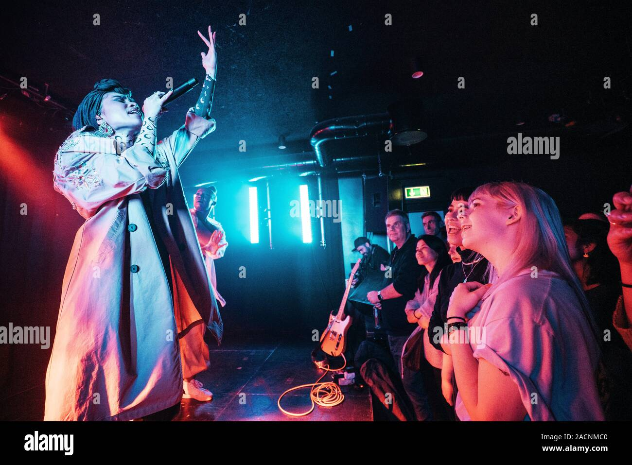 Copenhagen, Denmark. 02nd Dec, 2019. The Malaysian singer and songwriter Yuna performs a live concert at BETA in Copenhagen. (Photo Credit: Gonzales Photo/Mathias Kristensen/Alamy Live News). Stock Photo