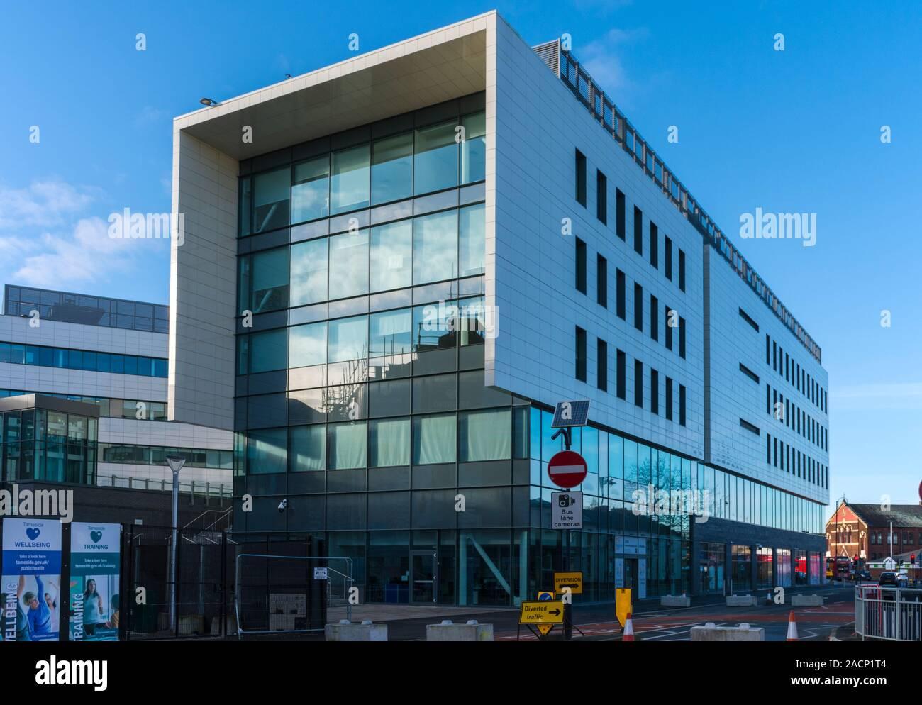 The Tameside One building, Ashton-under-Lyne, Tameside, Gtr. Manchester, England, UK Stock Photo