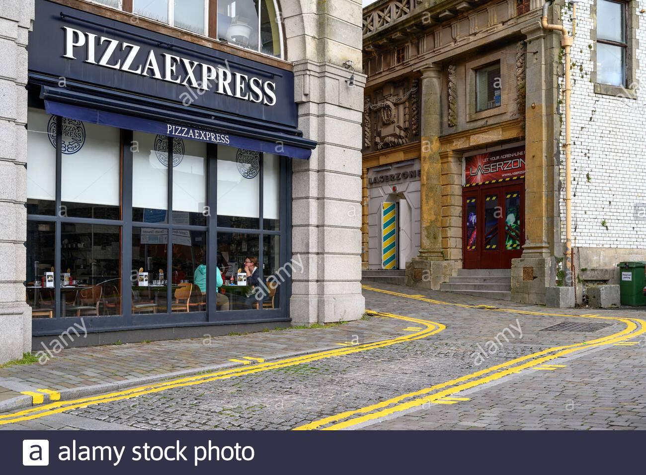 Shop Front Pizza Express Restaurant Stock Photos Shop