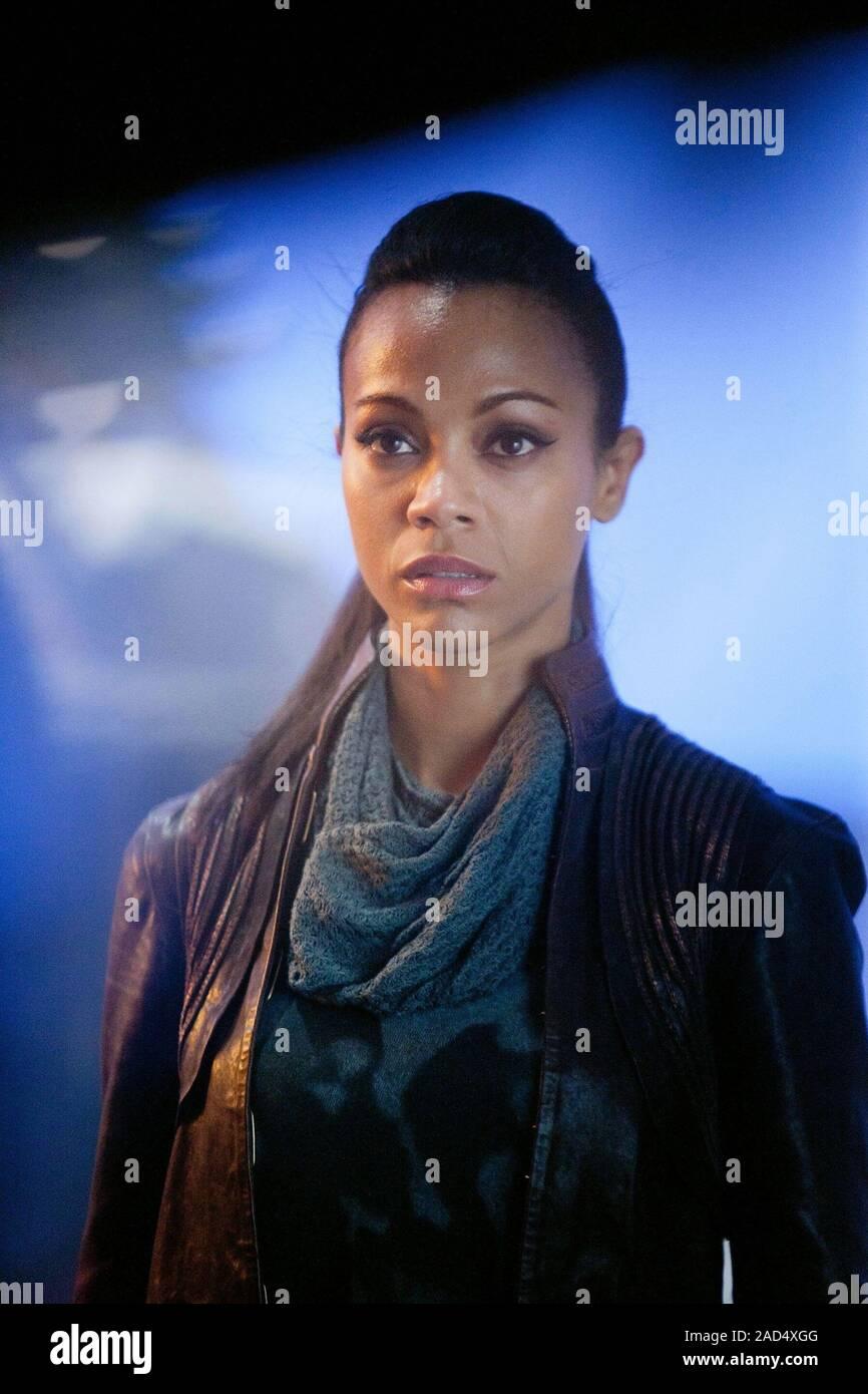 Zoe Saldana Star Trek Into Darkness 2013 Stock Photo