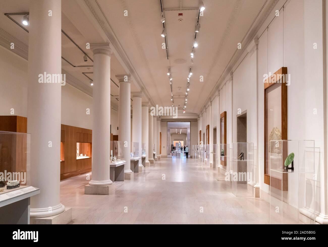 Interior of the Minneapolis Institute of Art, Minneapolis ...
