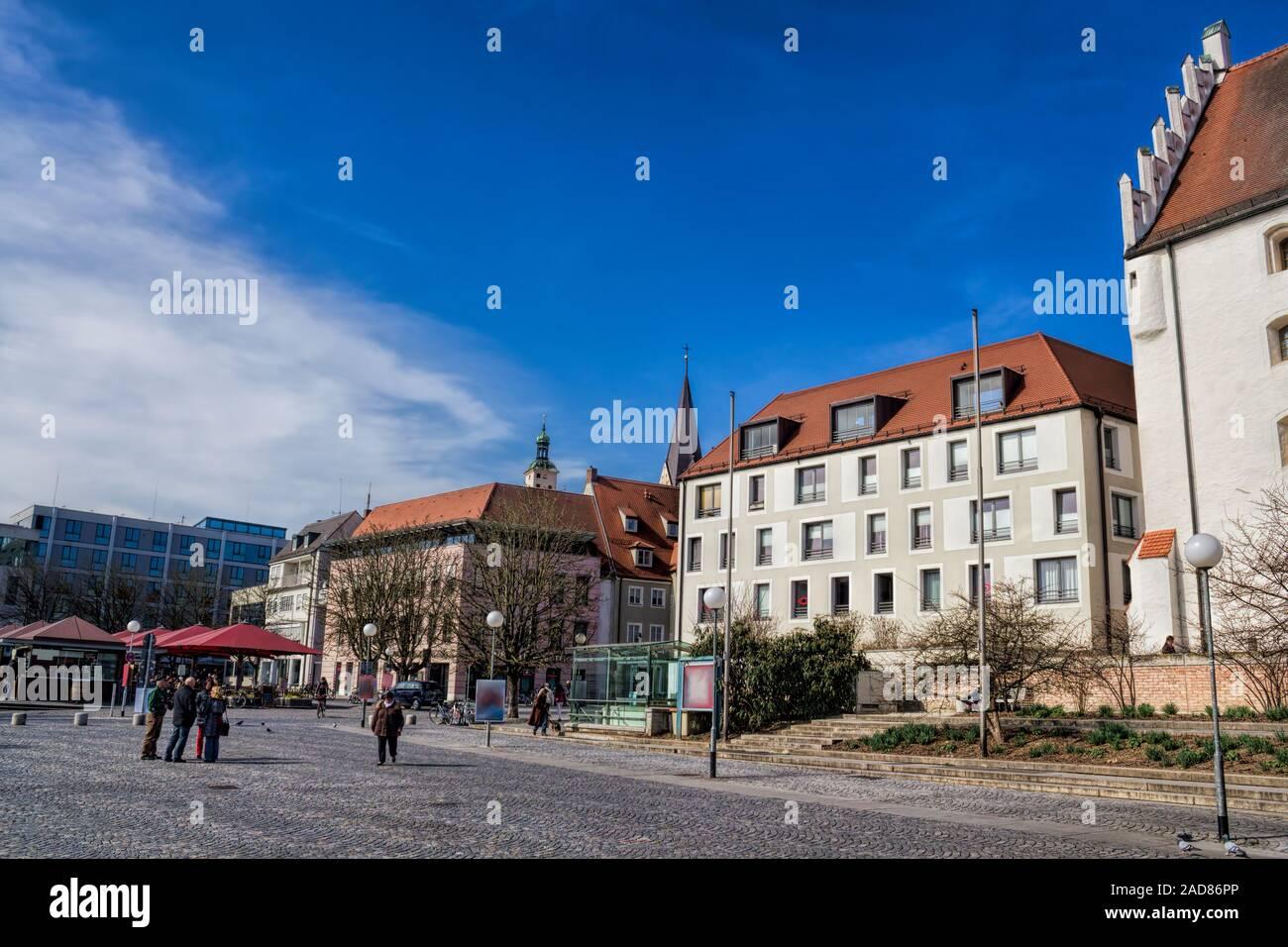 Ingolstadt, Paradeplatz Stock Photo